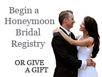Honeymoon Bridal Registry